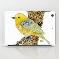 Yellow Warbler Tilly iPad Case