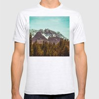 Alpspitze till Zugspitze Mens Fitted Tee Ash Grey SMALL