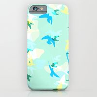 iPhone & iPod Case featuring Today's Word: Bird by TheBluePen