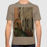 Canal Mens Fitted Tee Tri-Coffee SMALL