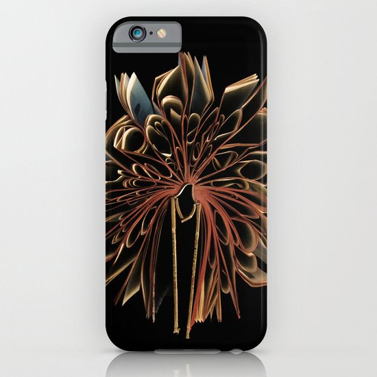 Book Flower iPhone & iPod Case