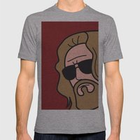 Pop Icon - The Dude Mens Fitted Tee Athletic Grey SMALL