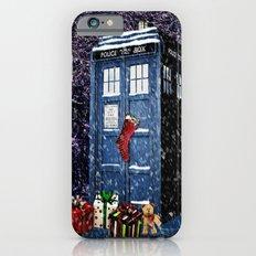 Tardis Christmas iPhone 6 Slim Case