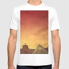 Louvre Mens Fitted Tee White SMALL