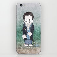 Dr. House iPhone & iPod Skin