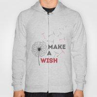 Make A Wish Red Hoody