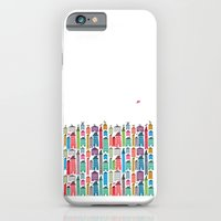 iPhone & iPod Case featuring Houses and Birds by Judy Kaufmann