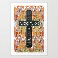 Holy Domino.0.2 Art Print