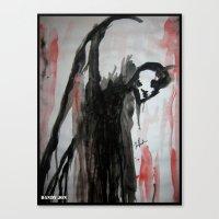 Old Devil Canvas Print