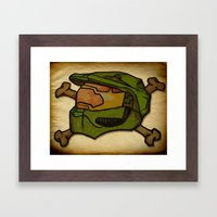 117 Framed Art Print