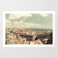 Italy , Napoli Art Print