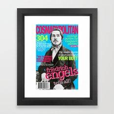 COSMARXPOLITAN, Issue 2 Framed Art Print