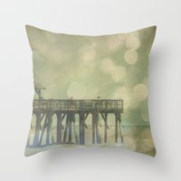 At Length The Season Of Summer Does Come Throw Pillow