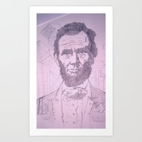 Five Dollar Synopsis For Abraham Art Print