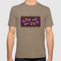 Folk Variation Mens Fitted Tee Tri-Coffee SMALL