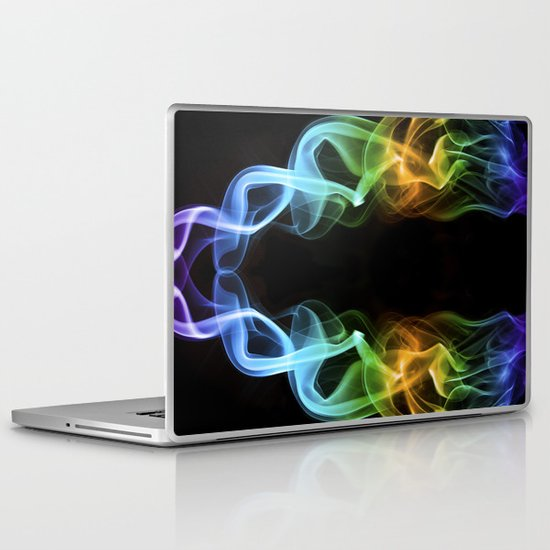 Smoke Photography #18 Laptop & iPad Skin