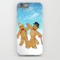 Gingerbread Family Winte… iPhone 6 Slim Case