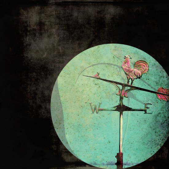 The Tale of a Weathervane Canvas Print