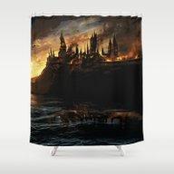 Harry Potter - Hogwart's… Shower Curtain