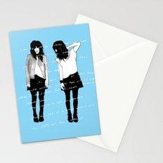 grady twins Stationery Cards