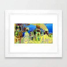 Roach City Framed Art Print