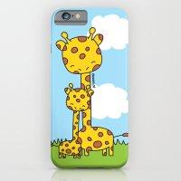 Giraffe Hugs iPhone 6 Slim Case