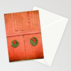 Christmas Barn Stationery Cards