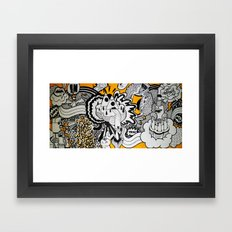 Born To Be Wild. Framed Art Print