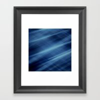 Magic Blue Framed Art Print