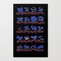 Pastamonium Canvas Print