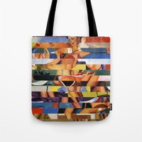 Glitch Pin-Up Redux: Madison Tote Bag