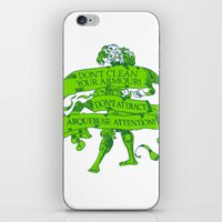 Wise Landsknecht #1 iPhone & iPod Skin