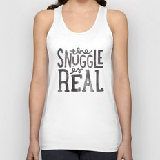 The Snuggle Is Real Unisex Tank Top