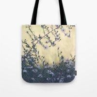 Wild Asters Botanical Tote Bag