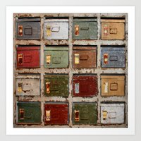 Drawers Art Print