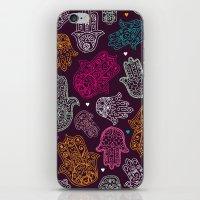 Arabic Hamsa Hand Of Fat… iPhone & iPod Skin