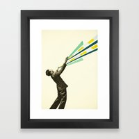 The Power of Magic Framed Art Print