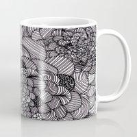 Ink Flowers Mug