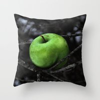 The Poison Apple Throw Pillow