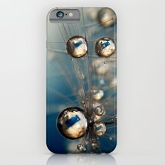 Royal Sea Blue Drops iPhone 6 Slim Case