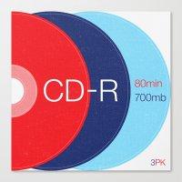 Obsolete — CD-R Canvas Print