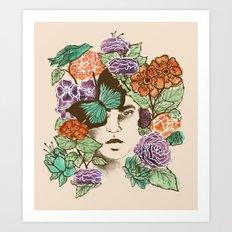 Brianna's Garden Art Print