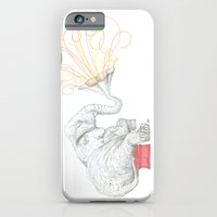 iPhone & iPod Case featuring One Elephant Band by Romina M.