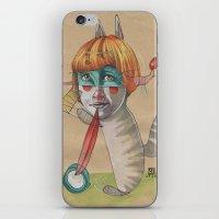 CAT CLOWN iPhone & iPod Skin