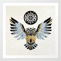 owl king! Art Print
