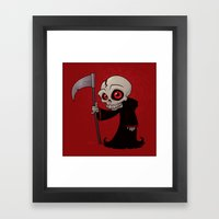 Little Reaper Framed Art Print