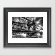 Hammersmith Bridge Londo… Framed Art Print