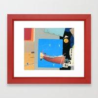 Aquatic Huntsman Framed Art Print