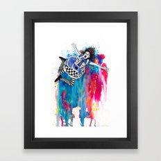 Sweet Disposition Framed Art Print