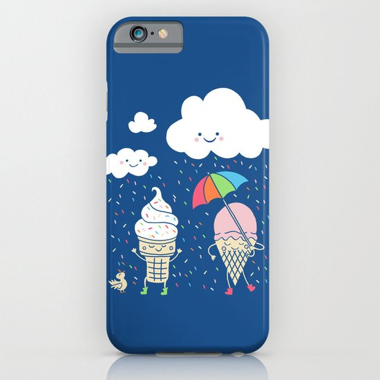 Cloudy With A Chance of Sprinkles iPhone & iPod Case